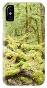 Virgin Rainforest Wilderness Of Fiordland Np Nz IPhone Case