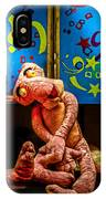 3 Wet Pink Panthers IPhone Case