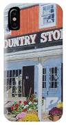 Wilbur's Country Store IPhone Case