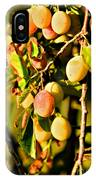 Yellow Plums IPhone Case