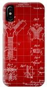 Zipper Patent 1914 - Red IPhone Case