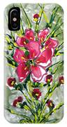 Zenmoksha Flowers IPhone Case