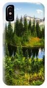 30920-55 Trailside Lake IPhone Case