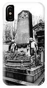 Pere-lachais Cemetery In Paris France IPhone Case