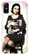 Typewriter Erotica IPhone Case