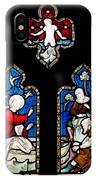 Religious Stained Glass Window IPhone Case