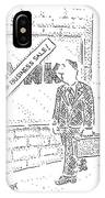 New Yorker March 31st, 2008 IPhone Case