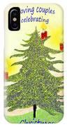 347 - A Christmas Card IPhone Case
