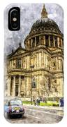 St Paul's Cathedral London IPhone Case