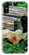 3722-panda -  Acanthus Sl IPhone Case
