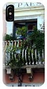 Views Of Taormina Sicily IPhone Case