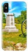 3rd Massachusetts Battery Gettysburg National Military Park IPhone Case