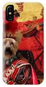 Silky Terrier Art Canvas Print IPhone Case