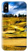 #18 At Chambers Bay Golf Course - Location Of The 2015 U.s. Open Tournament IPhone Case
