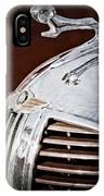 1938 Dodge Ram Hood Ornament IPhone Case