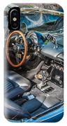 1959 Chevy Corvette Convertible Painted  IPhone Case