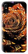 4 4 Echo Rose IPhone Case