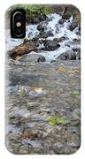 Alaskan Waterfall IPhone Case