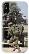 An Israel Defense Force Merkava Mark II IPhone Case