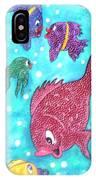 Art Fish IPhone Case