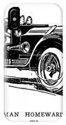 Automobile Cartoon, 1914 IPhone Case