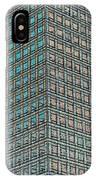 Canary Wharf London Art IPhone Case