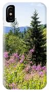Carpathians Landscape IPhone Case
