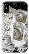 Celtic Skulls Symbolic Pathway To The Other World IPhone Case