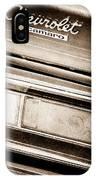 Chevrolet Camaro Taillight Emblem IPhone Case