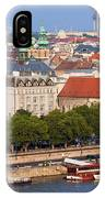 City Of Budapest In Hungary IPhone Case