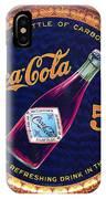 Coca - Cola Vintage Poster IPhone Case
