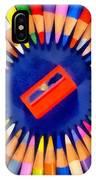 Colorful Pencils IPhone Case
