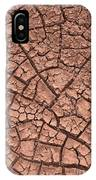 Cracked Dry Clay IPhone Case