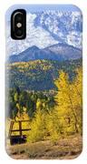 Crystal Lake On Pikes Peak IPhone Case