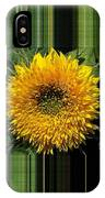 Dwarf Sunflower Named Teddy Bear IPhone Case