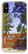 Entrance Gate Of Humayuns Tomb In Delhi  IPhone Case
