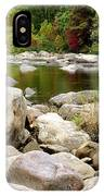 Fall Along Cherry River IPhone Case