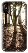 Forest Sunlight IPhone Case