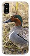 Greenwing Teal IPhone Case