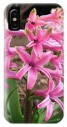 Hyacinth Named Pink Pearl IPhone Case