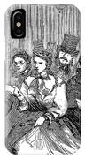 Johnson Impeachment, 1868 IPhone Case