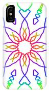 Kaleidoscope Drawing IPhone Case