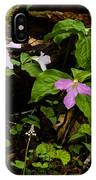 Large Flowered Trillium  IPhone Case