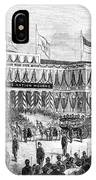 Lincoln's Funeral, 1865 IPhone Case
