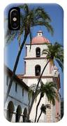 Old Mission Santa Barbara IPhone Case