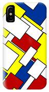 Mondrian Rectangles IPhone Case