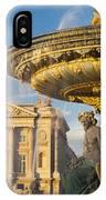 Paris Fountain IPhone Case