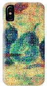 4 Pears Mosaic IPhone Case