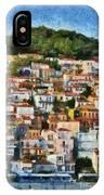 Plomari Town IPhone Case