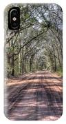 Road To Angel Oak IPhone Case